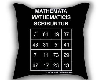Copernicus Prime Magic Square pillows