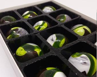 Dark Chocolate Mint Fondants