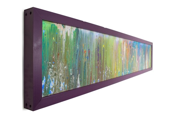 Art With Lights Horizontal Art Modern Lighting Abstract Art