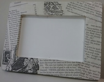 Nancy Drew Vintage Book Frame-Chapter Variation