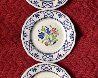 Johnson Brothers England Provincial-set of 3 Salad Plates
