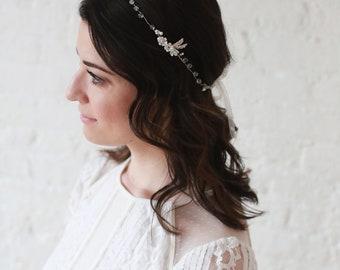 Sandra Tie-In Headband/Halo