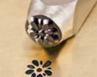 ImpressArt Gardenia Stamp, 6mm Gardenia, Flower, Floral, jewelry stamps, metal stamps, metal stamping tools, stamping tools