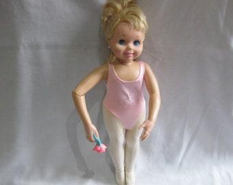 "PRETTY 1989 15"" Tyco BALLERINA Doll"