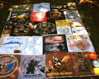 T-Shirt Quilts, Made to Order