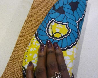Beautiful african clutch