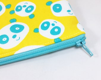 Panda Pencil Case panda Bear Zipper Pouch Panda Gift Zipper Bag Christmas Gifts for Girls Panda Lover Panda christmas gift