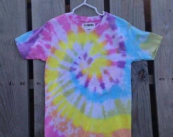 Small, Tie Dye Shirt, TDKSspiral4