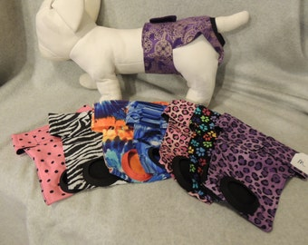 "Female Dog Diapers Medium 14-19"" Your Choice"