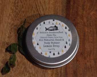 Lemon Drop Hand and Body Butter