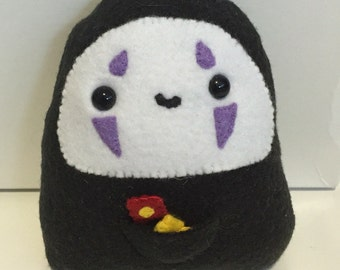 Cute No Face plush