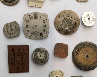 Vintage watch faces, STEAMPUNK