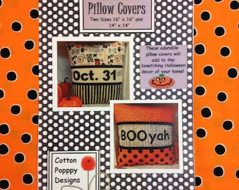 Halloween Pillow Covers Pattern
