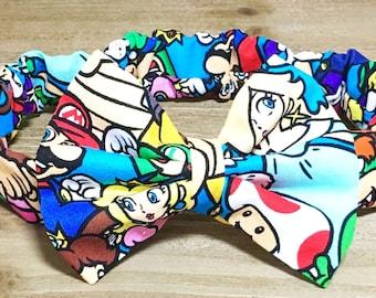 Mario Kart Headband- Nintendo Bow Nintendo Hair Bow Nintendo Birthday Nintendo Outfit Toddler Headbands Newborn Headbands Bow Headbands
