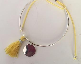 Bracelet Bangle and Silver 925