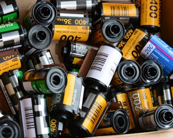 Lot Of Empty Metal Film Canisters From 35mm Film For Keychains, Jewelry-Making, and more!