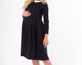 Handmade maternity cocktail dress