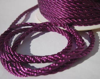 1 meter of cotton yarn braided 3 mm thick (164)
