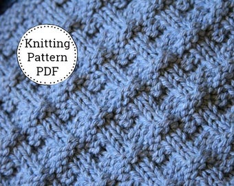 KNITTING PATTERN-Danielle, Dishcloth Pattern