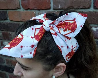 Gryffindor harry potter headband