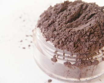 Coffee Bean- All Natural Mineral Eyeshadow (Vegan)(Semi-Matte)