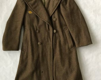 Army wool coat