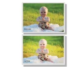 Custom Photo Editing/Retouching