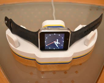 Apple Watch Dock IDOQQ Watch stand charging station iphone ipad docking station for Apple Watch stand wood