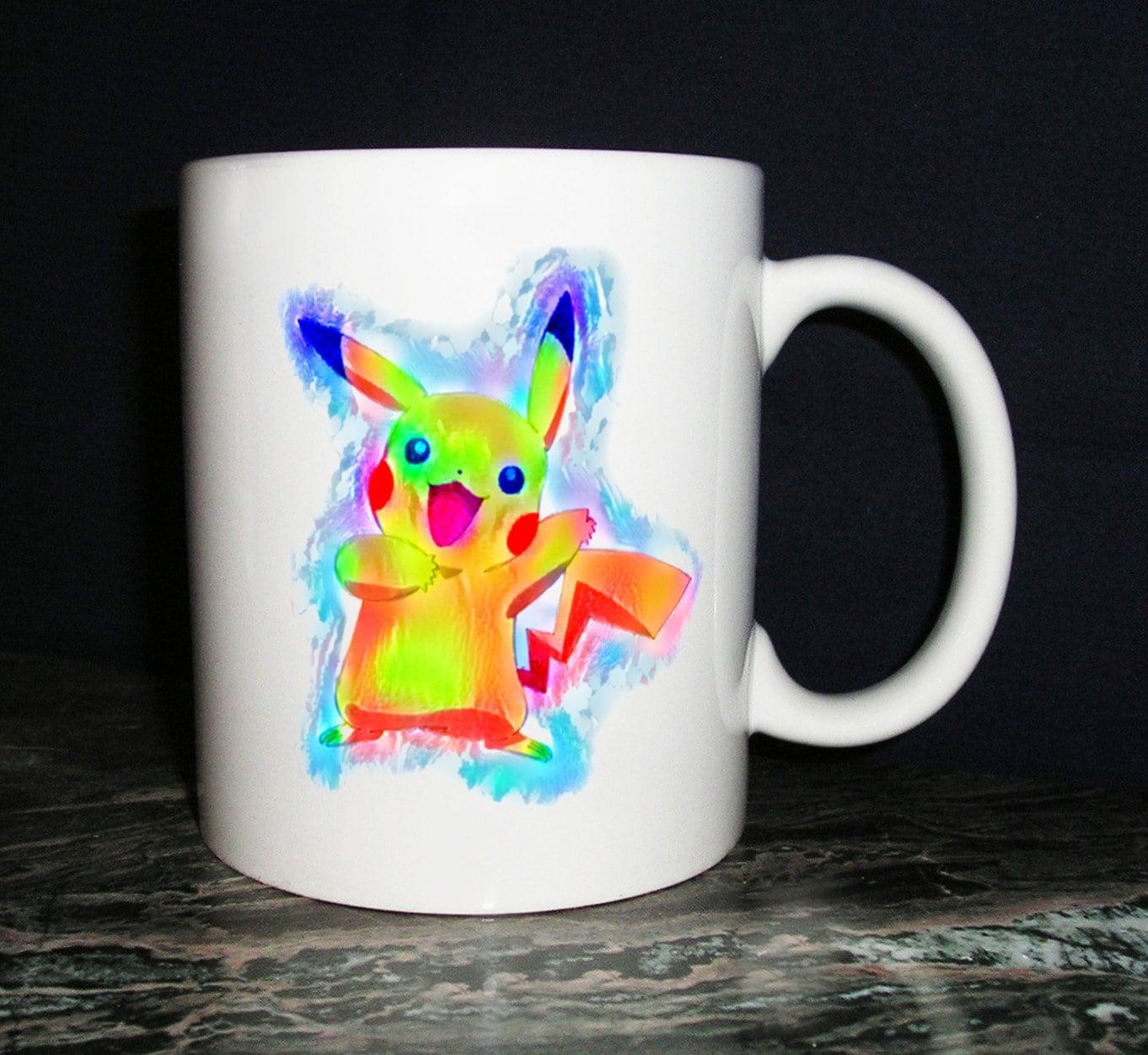 Pikachu Pokemon Themed Coffee Mug