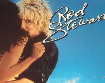 Rod Stewart record album, Rod Stewart Blondes Have More Fun, vintage vinyl record