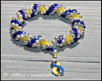 Down Syndrome Awareness Bracelet (benefits National Down Syndrome Society)