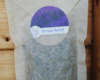 Lavender Stress Relief Bath Tea