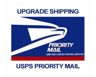 Upgrade to Priority USPS 3-4 day Shipping