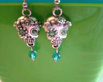 Day of the Dead -  Día de los Muertos Calaveras Skull Earrings