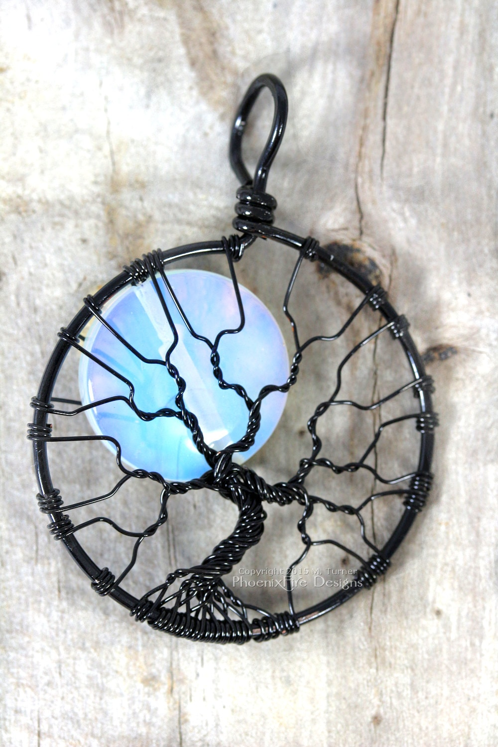 on opalite art by deviantart ilyere pendant