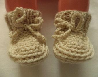 Baby shoes knit socks wool