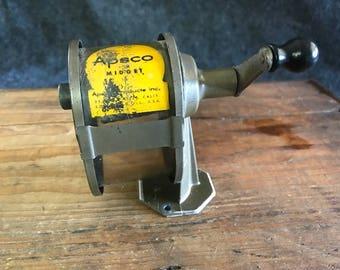 Vintage Apsco Midget pencil sharpener, celluloid