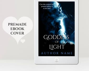 Premade eBook Cover - eBook Cover Design - Paranormal eBook Cover - Supernatural eBook Cover -  Fantasy eBook -  Kindle Cover