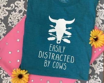 Vinyl Cow Tshirt