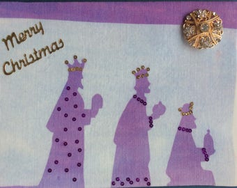 Christmas Gift Card: Three Wise Men