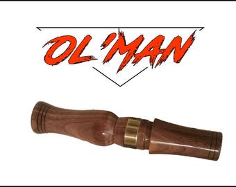 Simple Man  (Ol ' Man )  Walnut  Owl Hooter
