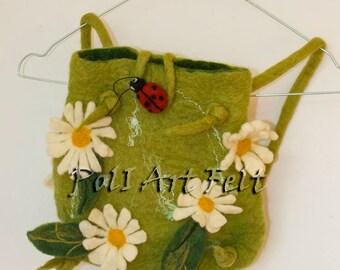 Felted bag, Felt bag, school supplies, Backpack