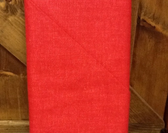 no. 1010 Red Cool Weave Fabric by the Yard