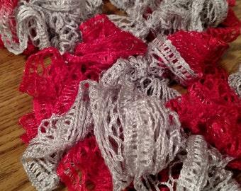 Ohio State Buckeyes inspired Sashay scarf.  Women's.
