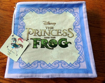 Disneys  The Princess and the Frog Cloth Book