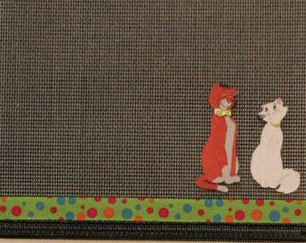 Aristocats Cat Lovers Earring and Pendant Organizer Display Holder