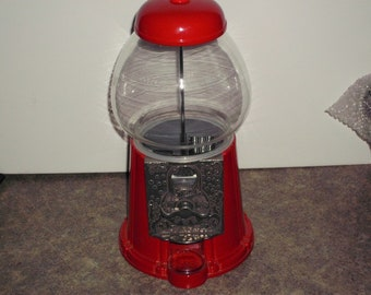 Vintage 1995 Carousel Gumball Machine - Coin Operated
