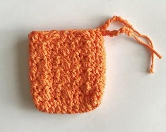 100% Cotton Soap Saver - Orange