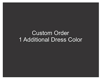 One Addition Dress Color