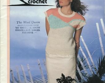 Women's Sweaters Patons Crochet Pattern Book 512 (Sunshine crochet); Good; USED